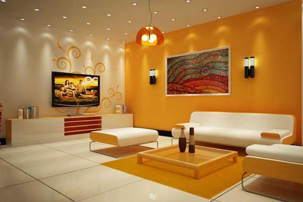 Chọn màu sơn nội thất phòng khách
