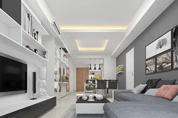 Sử dung tone màu sơn nội thất sáng sẽ giúp lấy ánh sáng tốt hơn