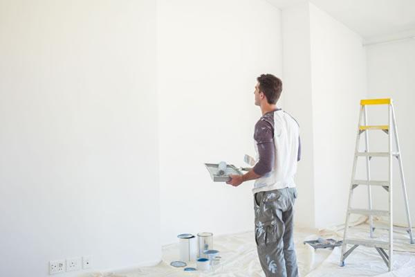Thi công sơn nội thất