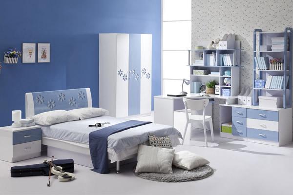 Màu xanh kết hợp trắng