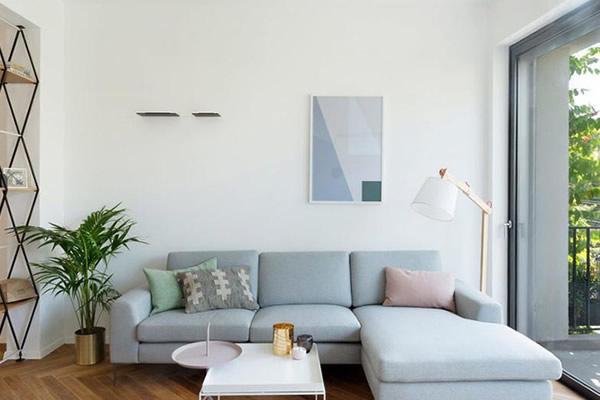 Sơn nội thất màu pastel tạo cảm giác mới lạ đầy nghệ thuật cho căn phòng