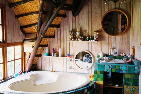 Phòng tắm phong cách Bohemian