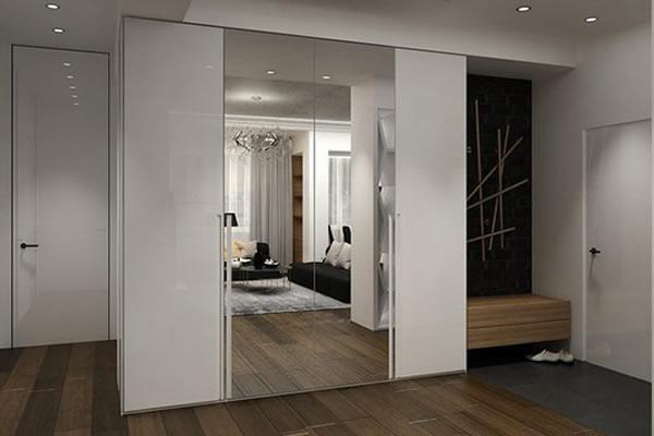 Không gian mới với sự kết hợp đen, trắng và màu của gỗ-4