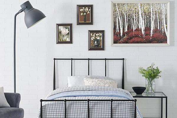 Phòng ngủ phong cách rustic-1