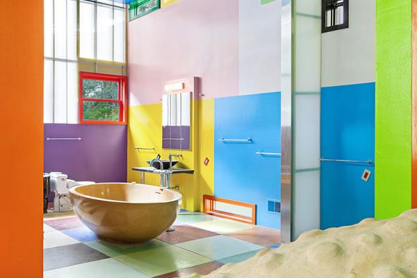 Ngôi nhà sơn màu sắc rực rỡ -5