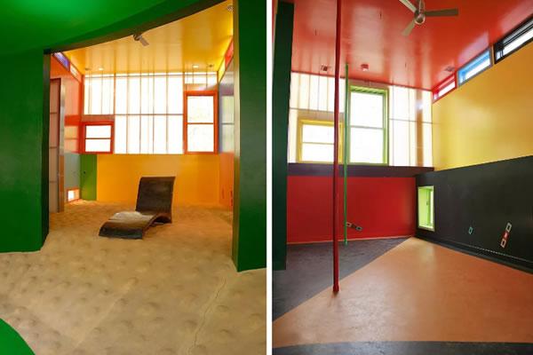 Ngôi nhà sơn màu sắc rực rỡ-7