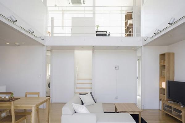 Không gian nhà màu trắng tối giản-3