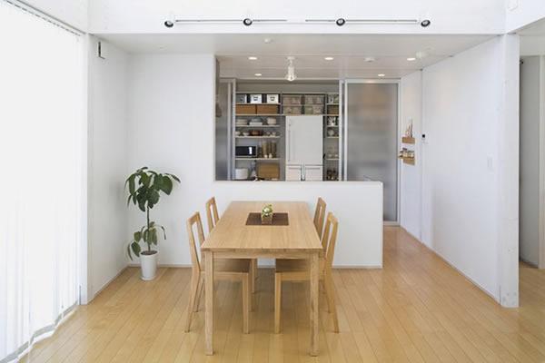Không gian nhà màu trắng tối giản-4