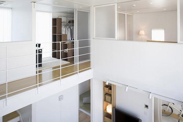 Không gian nhà màu trắng tối giản-5