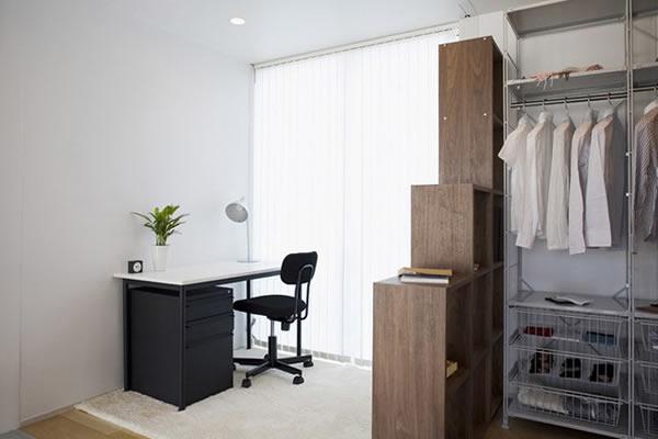 Không gian nhà màu trắng tối giản-10