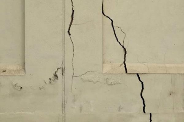 Tường bị nứt kết cấu