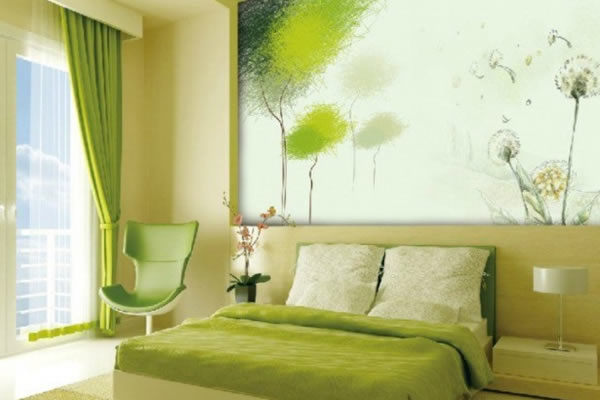 Không gian xanh lá cây