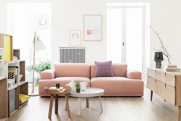 Những chiếc ghế màu pastel