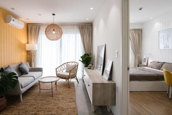 Trang trí nội thất nhà cho người mệnh Thổ với tone màu vàng-1