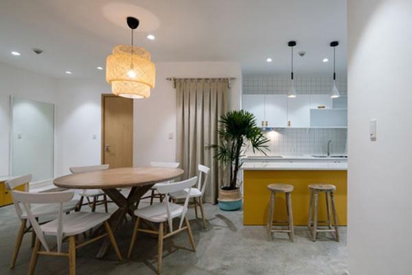 Trang trí nội thất nhà cho người mệnh Thổ với tone màu vàng-2
