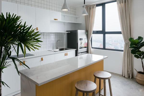 Trang trí nội thất nhà cho người mệnh Thổ với tone màu vàng-3