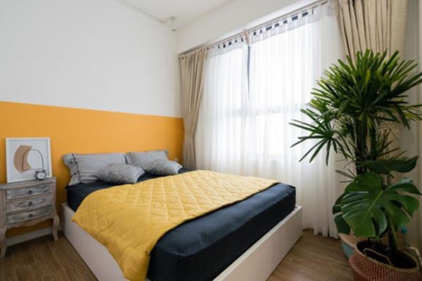 Trang trí nội thất nhà cho người mệnh Thổ với tone màu vàng-5