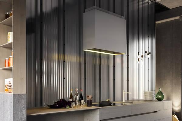 Không gian bếp màu xám-9
