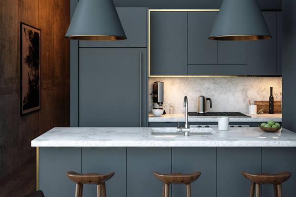 Không gian bếp màu xám-10