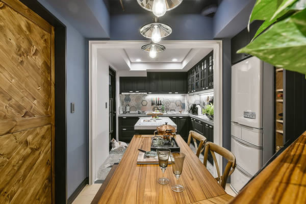 Không gian phòng ngủ màu xám xanh-7