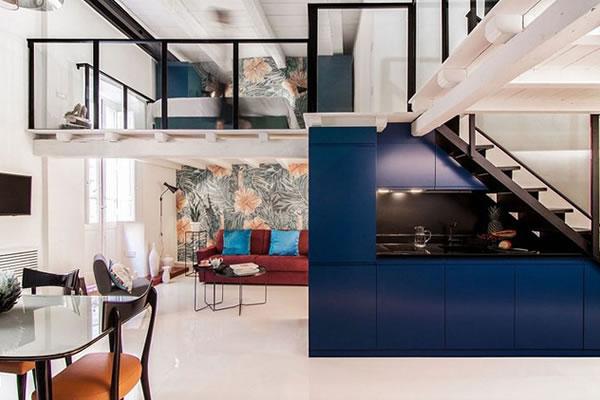 Không gian nhà rực rỡ mang phong cách Ý-3