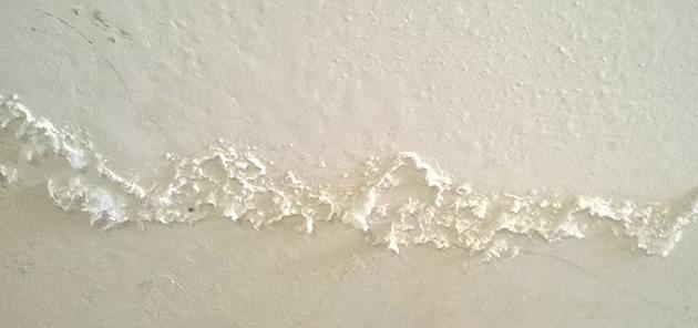 Tường bị muối hóa
