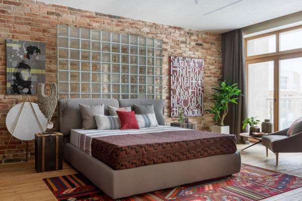 Phòng ngủ nhẹ nhàng với cách phối các màu sắc bắt mắt