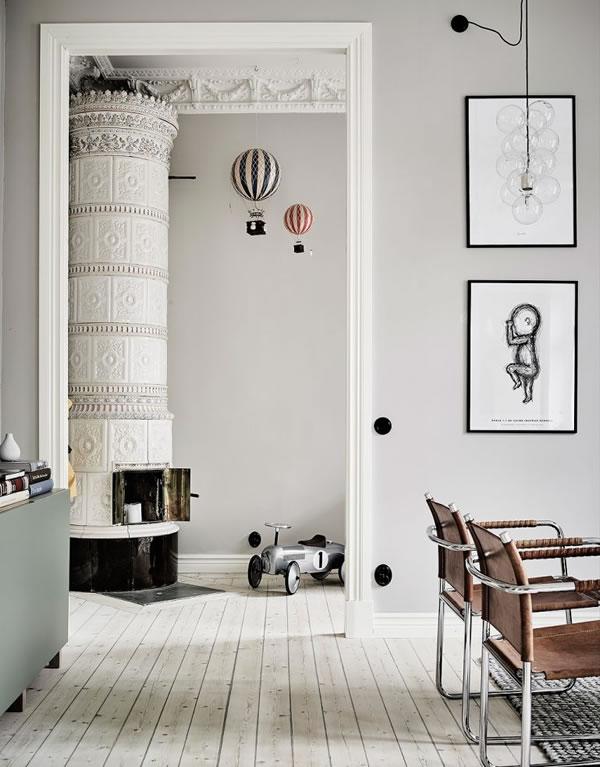 Ấn tượng với căn hộ màu xám trắng-2