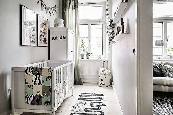 Ấn tượng với căn hộ màu xám trắng-3