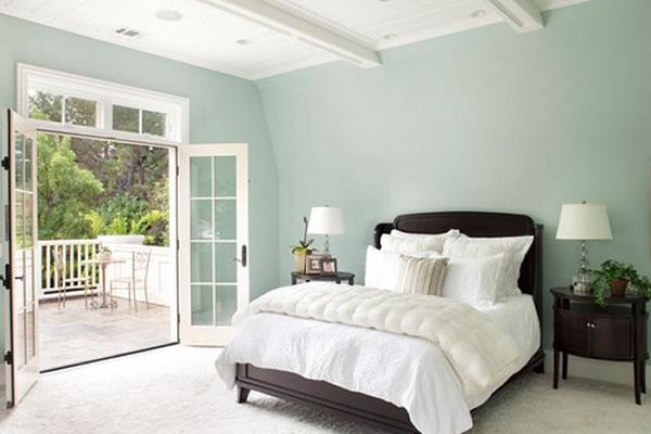 Không gian nội thất màu xanh bạc hà-3