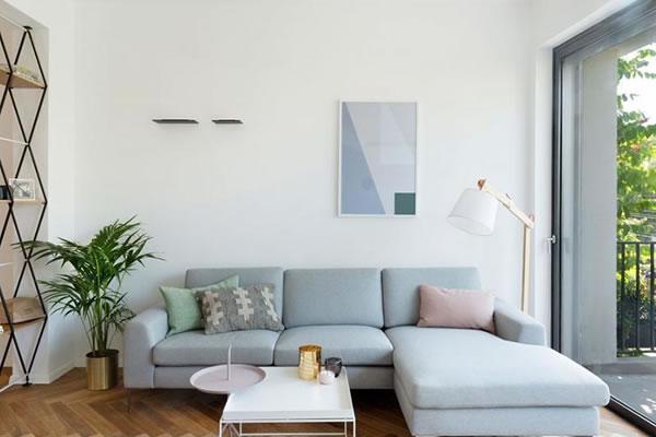 Không gian nhà màu Pastel