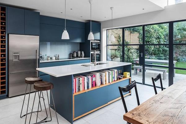 Bếp xanh dương-1