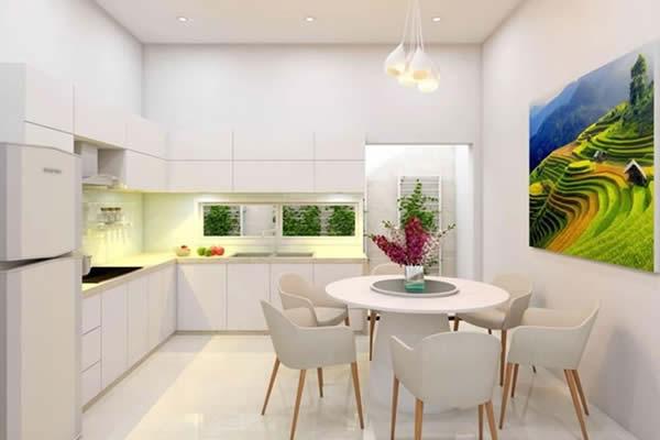 Cách để căn bếp nhỏ hẹp trở nên thoáng rộng