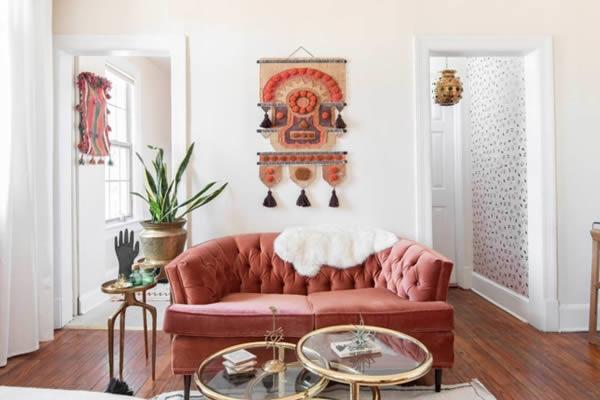Trang trí căn hộ nhỏ màu pastel-4