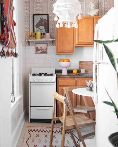 Trang trí căn hộ nhỏ màu pastel-8