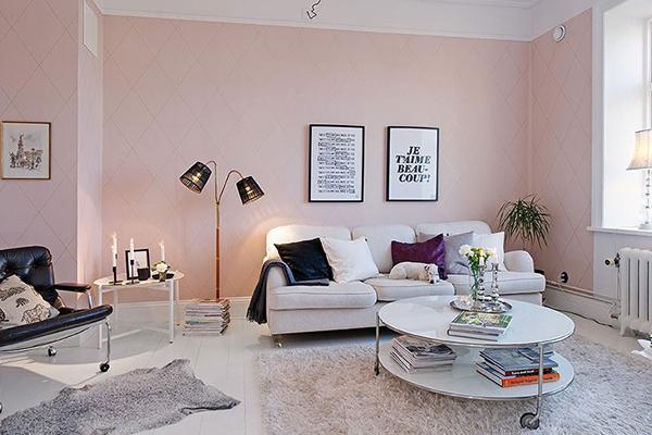 Chú ý khi chọn màu sơn tường và đồ nội thất