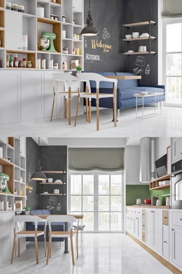 Sáng tạo thiết kế phòng ăn đa sắc thái-7