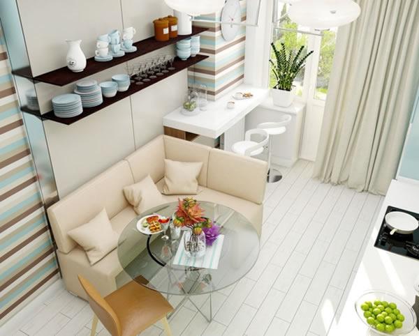 Sáng tạo thiết kế phòng ăn đa sắc thái-8