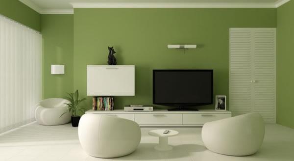 Trang trí phòng khách để gần gũi với thiên nhiên hơn
