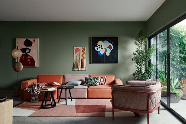 Trang trí phòng khách để gần gũi với thiên nhiên hơn-1