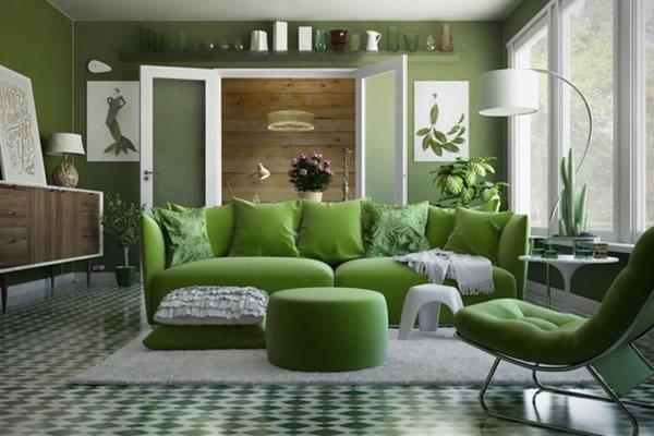 Trang trí phòng khách để gần gũi với thiên nhiên hơn-2