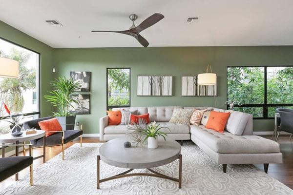 Trang trí phòng khách để gần gũi với thiên nhiên hơn-3