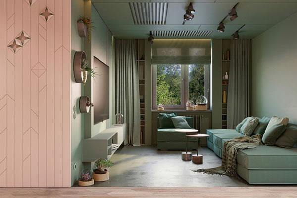 Trang trí phòng khách để gần gũi với thiên nhiên hơn-8