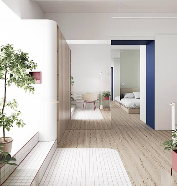 Sơn tường nhà với sắc màu rực rỡ cá tính
