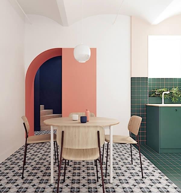 Sơn tường nhà với sắc màu rực rỡ cá tính-4