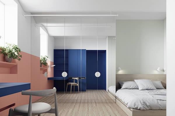 Sơn tường nhà với sắc màu rực rỡ cá tính-5