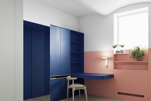 Sơn tường nhà với sắc màu rực rỡ cá tính-6