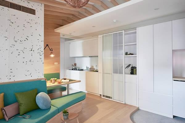 Ý tưởng trang trí nội thất căn hộ theo phong cách Nhật Bản đầy sáng tạo-2