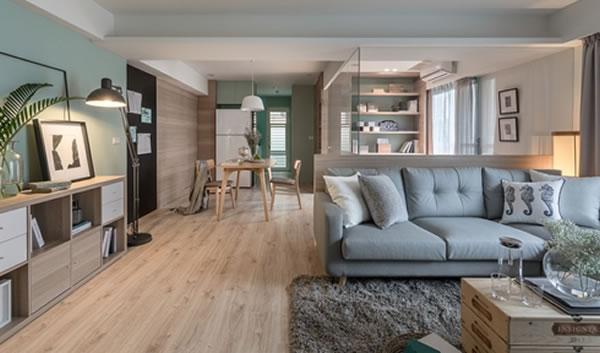 Gợi ý sơn nội thất màu bạc hà tạo không gian thoáng mát, thân thiện