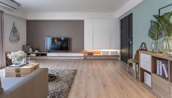Gợi ý sơn nội thất màu bạc hà tạo không gian thoáng mát, thân thiện-1